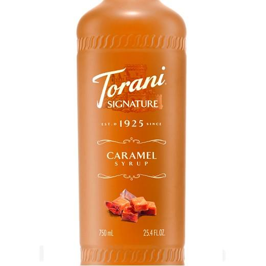 Caramel Signature Syrup 750 mL Bottle
