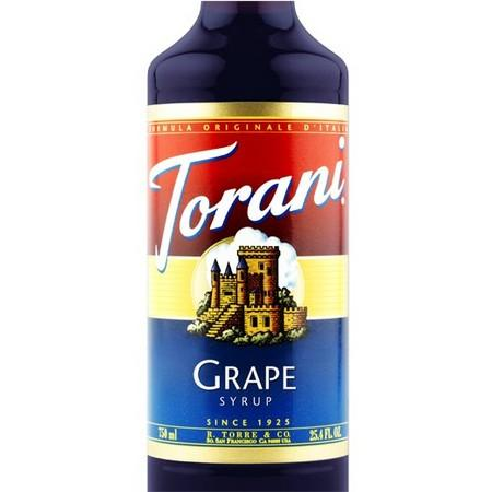 Torani Cherry Syrup 750 mL Bottle