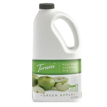 Torani Green Apple Real Fruit Smoothie Mix 64 oz