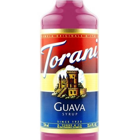 Torani Guava Syrup 750 mL Bottle