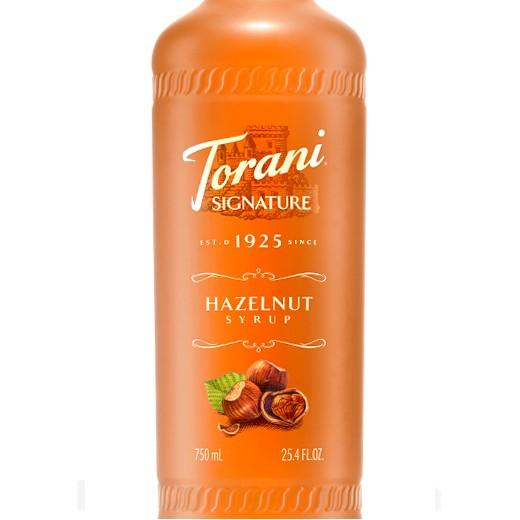 Hazelnut Signature Syrup 750 mL Bottle