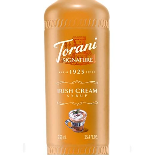Irish Cream Signature Syrup 750 mL Bottle