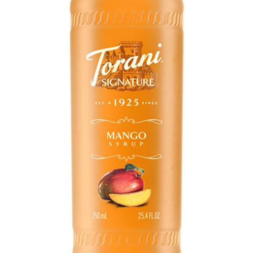 Mango Signature Syrup 750 mL Bottle