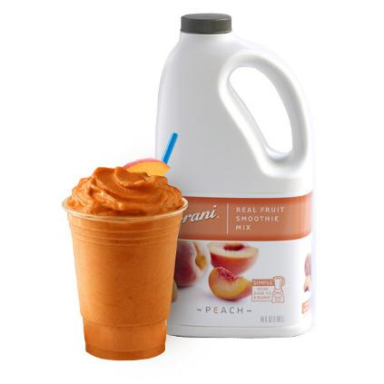 Torani Peach Real Fruit Smoothie Mix 64 oz