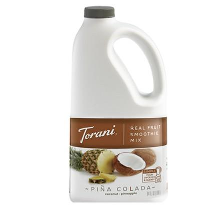 Torani Pina Colada Real Fruit Smoothie Mix 64 oz