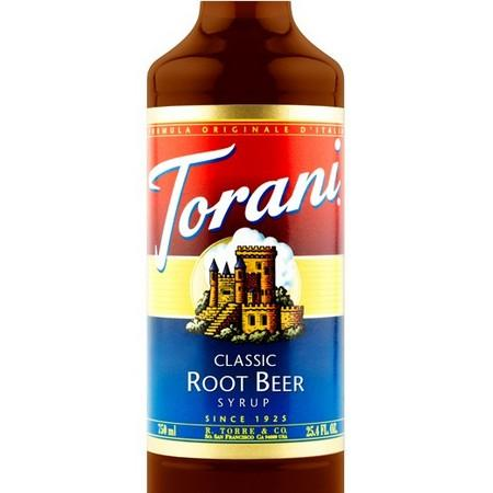 Torani Root Beer Classic Syrup 750 mL Bottle