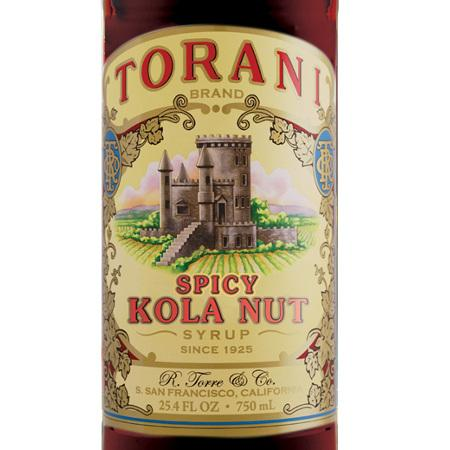 Torani Spicy Kola Nut Syrup 750 mL Bottle