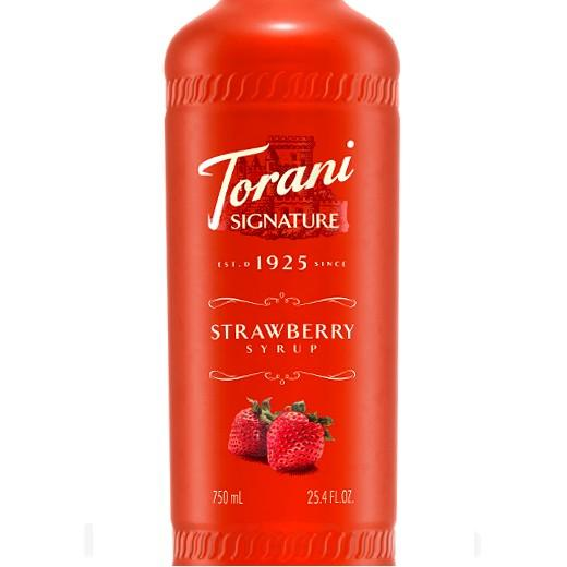 Strawberry Signature Syrup 750 mL Bottle