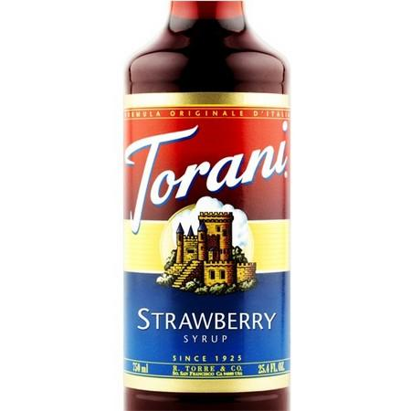 Torani Cane Sugar Syrup 750 mL Bottle