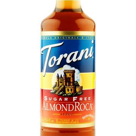 Torani Sugar Free Sweetener Syrup 750 mL Bottle