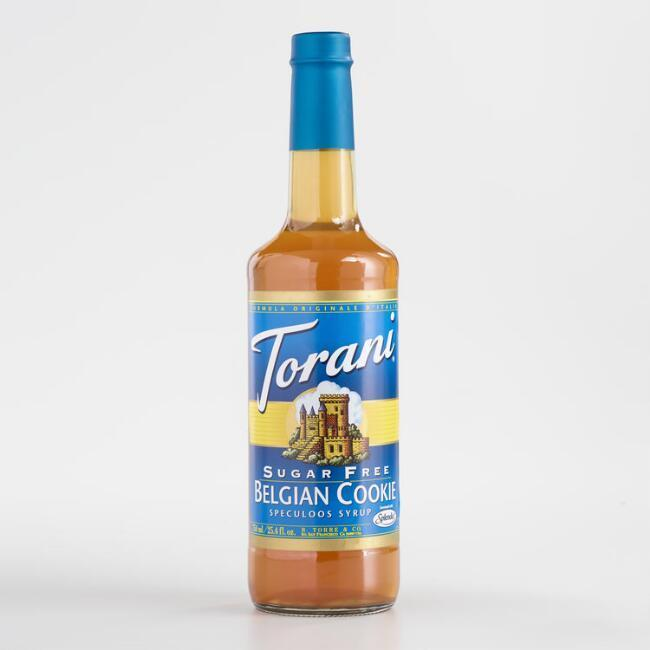 Torani Sugar Free Belgian Cookie Syrup 750 mL Bottle