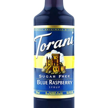 Torani Sugar Free Lemon Syrup 750 mL Bottle