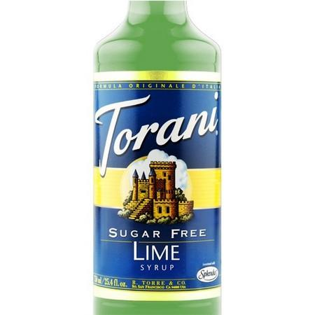 Torani Kiwi Syrup 750 mL Bottle