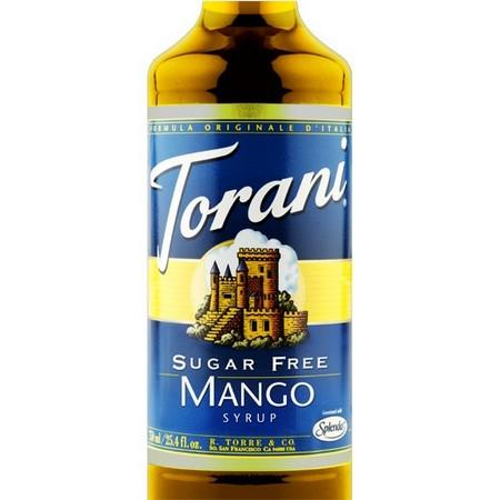 Torani Sugar Free Cinnamon Vanilla Syrup 750 mL Bottle