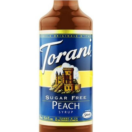 Torani Sugar Free Mango Syrup 750 mL Bottle