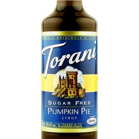 Torani Sugar Free Hazelnut Syrup 750 mL Bottle