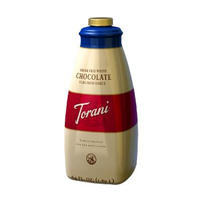 Torani Sugar Free White Chocolate Sauce 64 oz