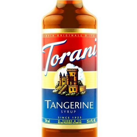 Torani Tangerine Syrup 750 mL Bottle