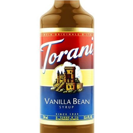 Torani Apple Syrup 750 mL Bottle