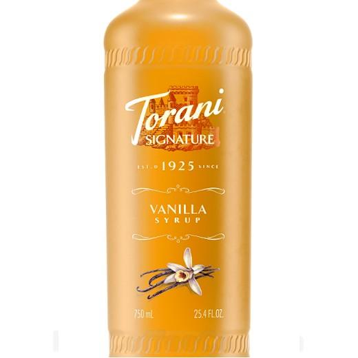 Vanilla Signature Syrup 750 mL Bottle