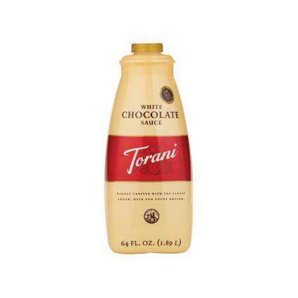 Torani White Chocolate Sauce 64 oz