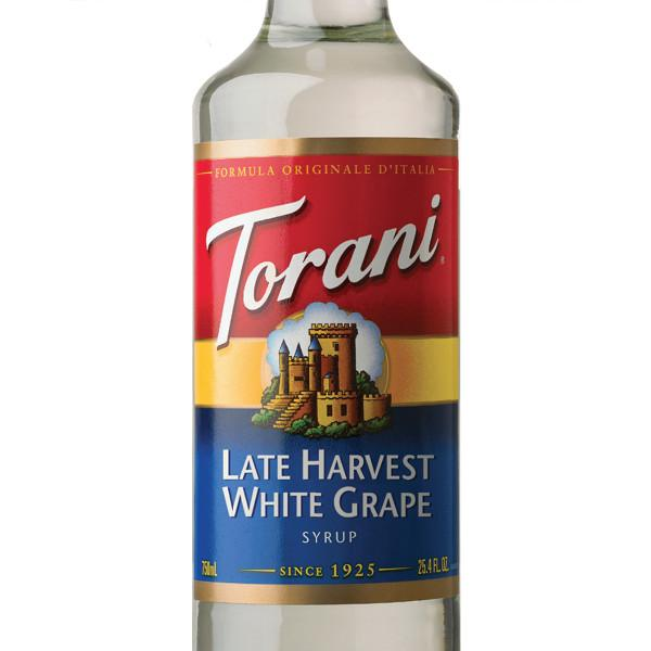 Torani White Grape Syrup 750 mL Bottle