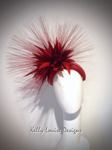 Scarlett Feather Burst