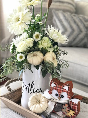 Happy Fall!!  DIY Seasonal Fall Home Decor