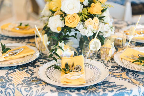 Lemon themed bridal shower, She Found Her Main Squeeze, lemon themed party ideas