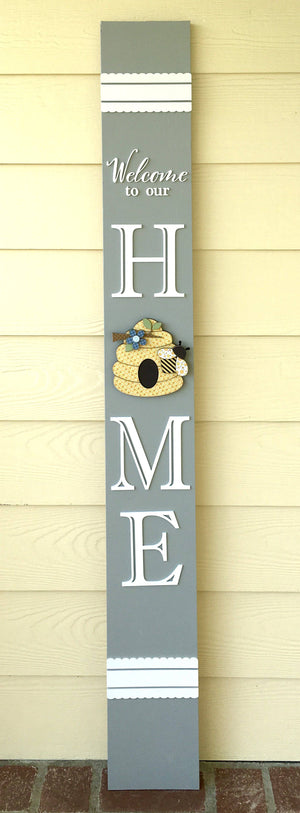 5 Foot Home Seasonal Welcome Board (board not included)