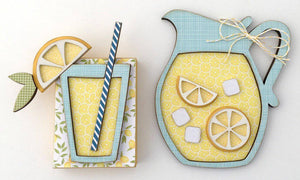 Lemonade Tiered Tray Kit - Paisleys and Polka Dots