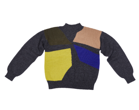 Four Corners alpaca wool knit sweater by The Endery