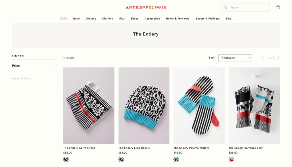The Endery Anthropologie