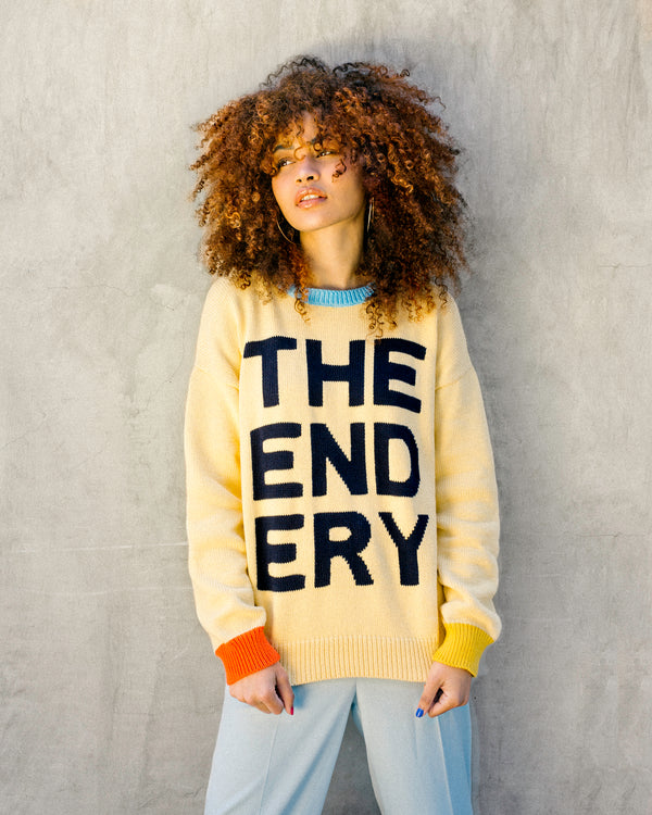 The Logo Sweater | Ivory