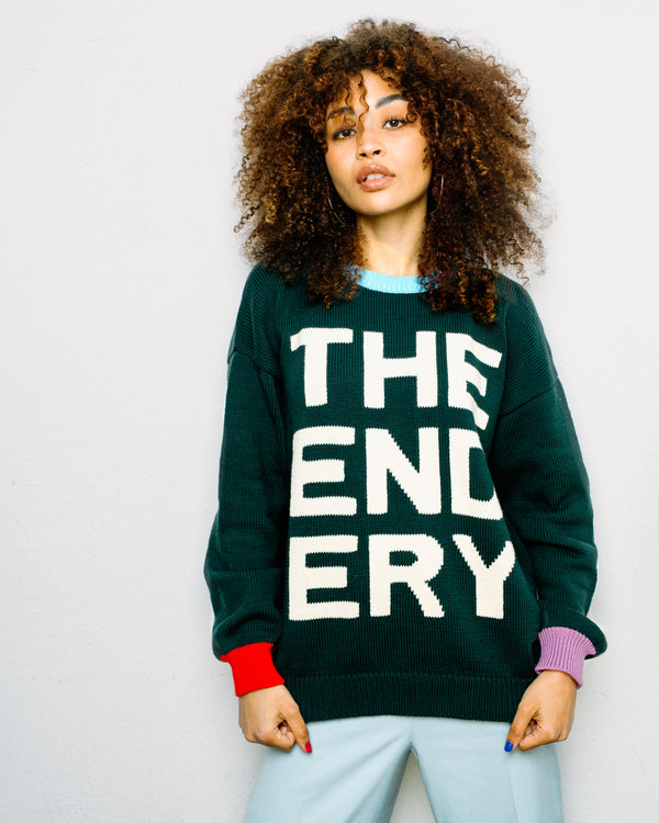 The Logo Sweater | Fern