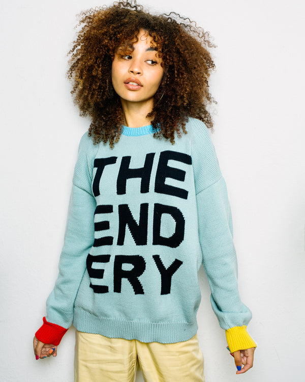 The Logo Sweater | Celeste