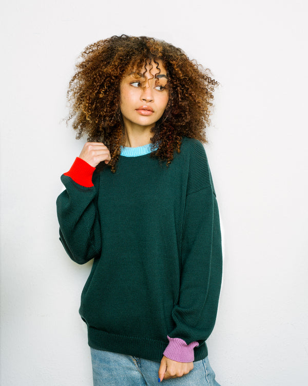 the no logo sweater | fern