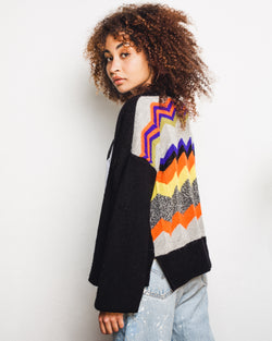 The Endery X Degen Zig Zag Cardigan