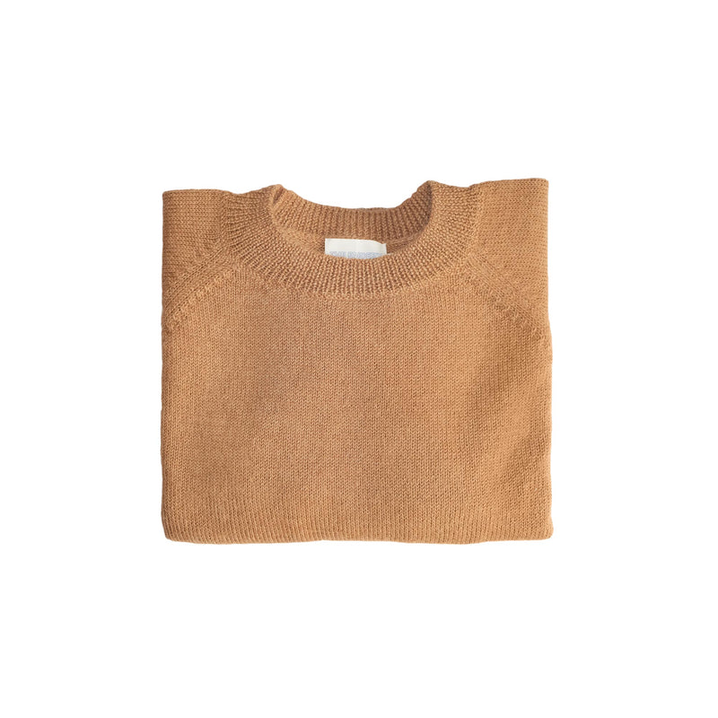 The Simple Raglan | Cashew