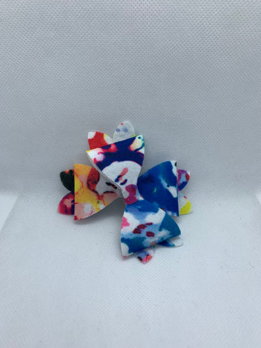Graffiti Hair bow clips