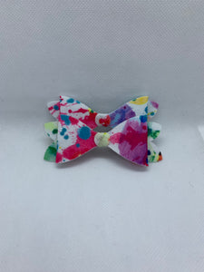 Paint Splash Hair bow clips