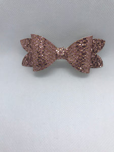 Shimmer Hair bow clips