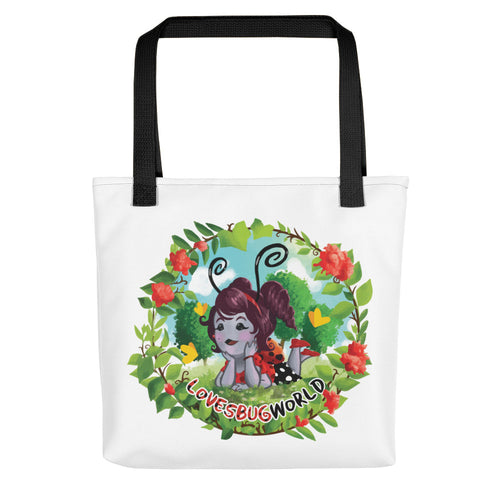 "Tote bag ""Lovesbugworld"""