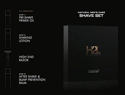 H2L NATURAL MEN'S CARE SHAVE SET •