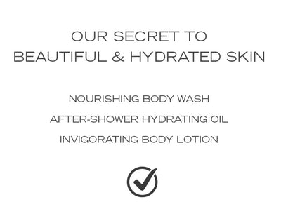 H2L AFTER-SHOWER HYDRATING OIL •