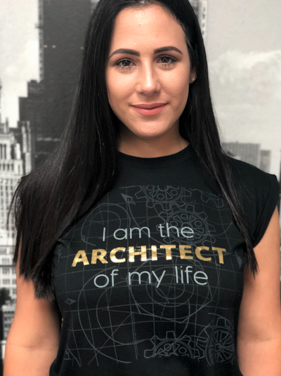 I Am The Architect of My Life T-Shirt For Women