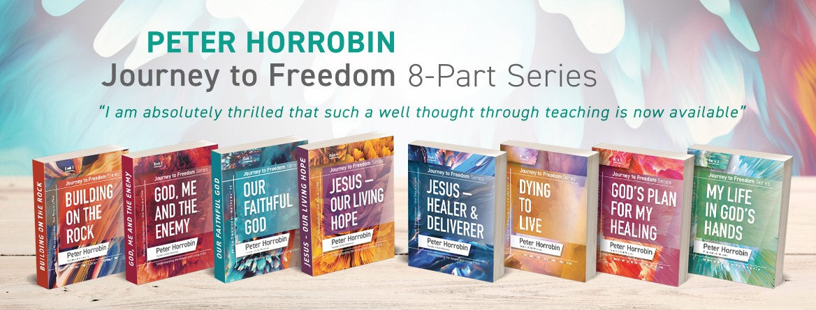 Journey to Freedom Series Books by Peter Horrobin