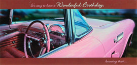 Card: Wonderful Birthday