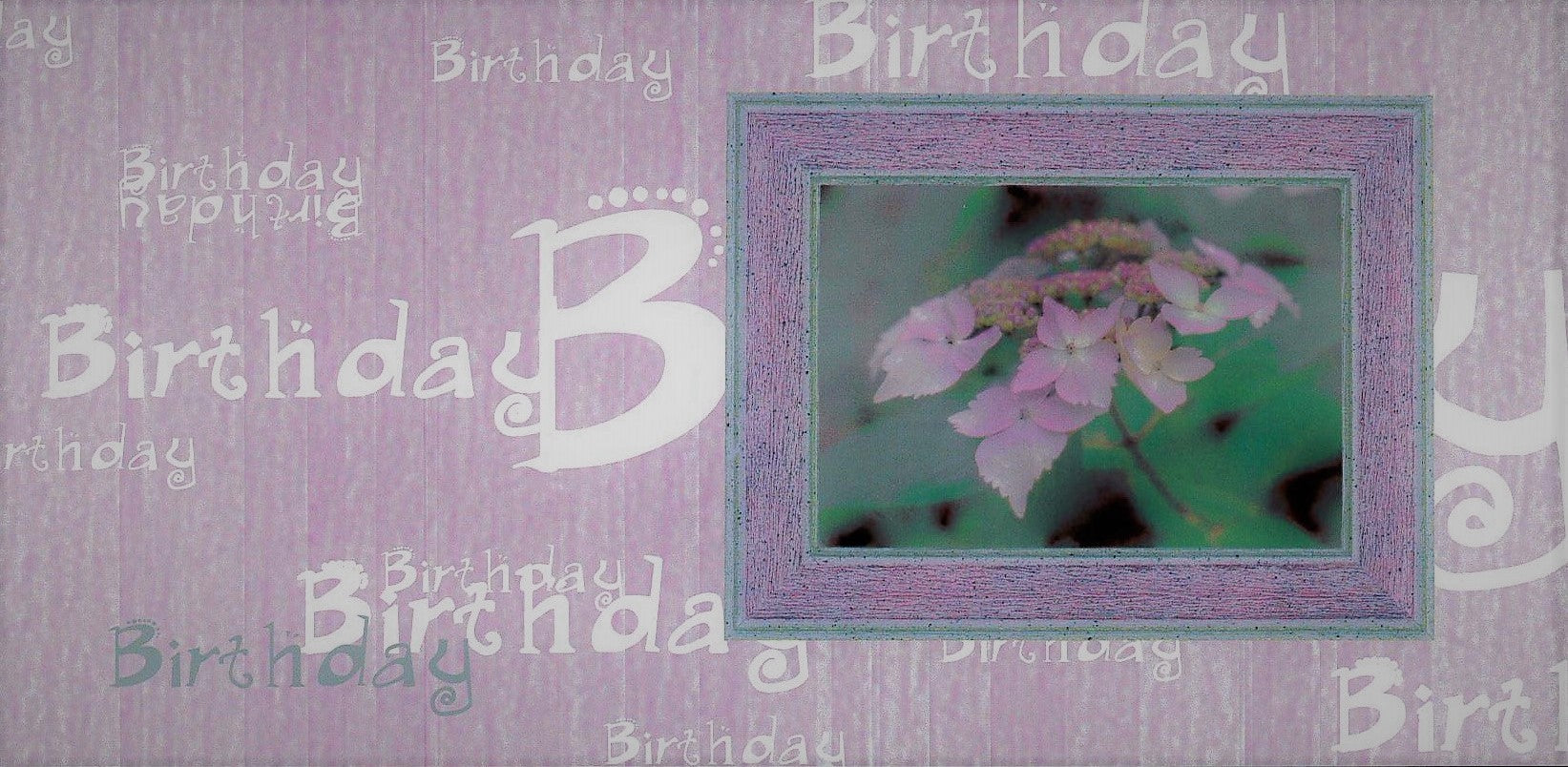 Card: Birthday etc