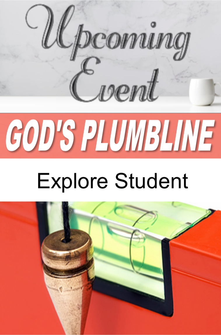 2020 God's Plumbline (Explore B Student)